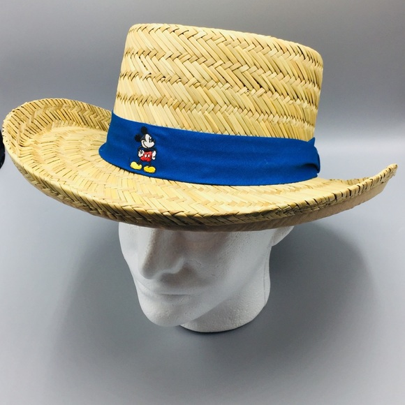 Disney Parks Men's Woven Mickey Mouse Hat